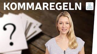 Kommaregeln und Kommasetzung I musstewissen Deutsch