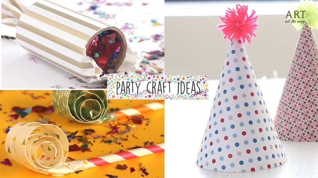 Diy Party Craft Ideas Youtube
