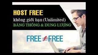 Tạo hosting free nhanh, không giới hạn dung lượng và băng thông