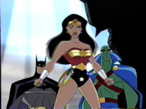 Random Movie Pick - Justice League (2001) Teaser (VHS Capture) YouTube Trailer