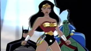 Justice League (2001) Teaser (VHS Capture)
