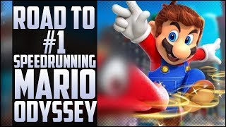 Armada's first time speedrunning Mario Oddesey, Road to #1!