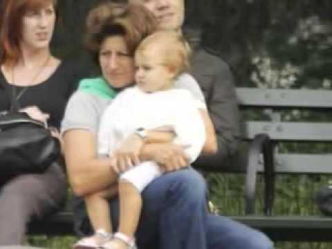 Roger Federer's twins Charlene Riva and Myla Rose