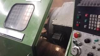 Hitachi Seiki Lathe - Complete Part Run