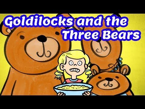 Goldilocks And The Three Bears Fairy Tales Full Story SL Kids TV