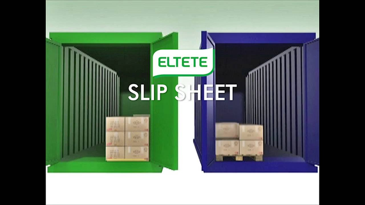 Slip Sheet Load More Goods Without Bulky Pallets