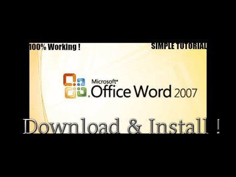 download microsoft office word 2007 full version