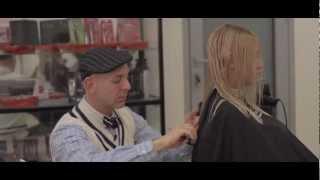 Умная стрижка на длинные волосы - прическа не требующая укладки(Стрижка не требующая укладки, или