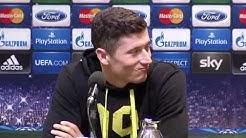 BVB - Real Madrid: Pressekonferenz mit Klopp und Lewandowski