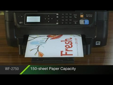 Epson WorkForce WF-2750 | Take the Tour