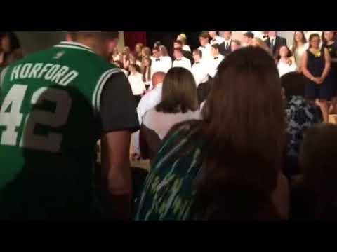 "Whitinsville Christian School Spring Concert - Josh Lawson ""America"""