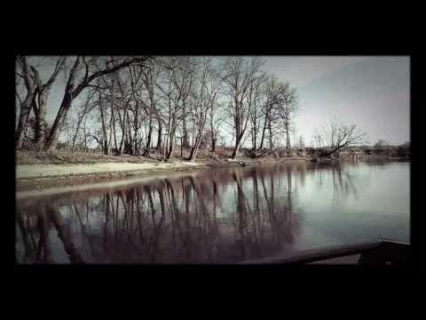 Kaskaskia river in the winter.