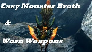 Mhgen Easy Monster Broth For Worn Rusted Weapons Youtube