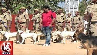 Ground Report On Police Dog Training   Integrated Intelligent Training Academy   V6 News
