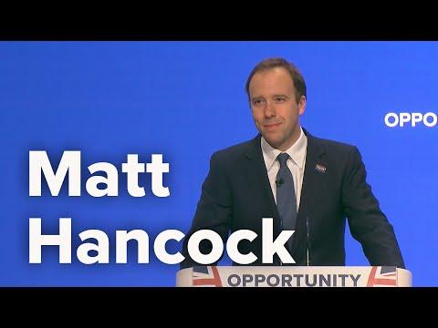 Matt Hancock, Secretary of State for Health and Social Care - CPC18