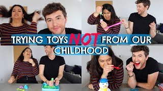 TESTING TOYS NOT FROM OUR CHILDHOOD!