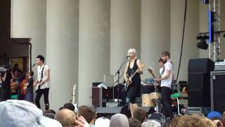 The Raveonettes - Attack of the Ghost Riders (Lollapalooza 09-Aug-2009)