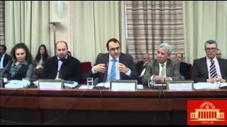 كريم غلاب يعقد ندوة صحفية لتقديم النظام الداخلي الجديد لمجلس النواب