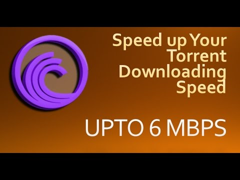 how to increase download speed of torrent