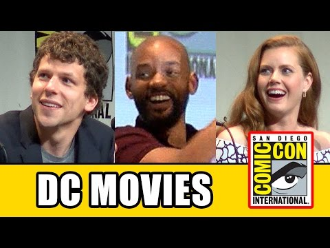 Warner Bros DC Movies Panel - Suicide Squad & Batman v Superman: Dawn of Justice