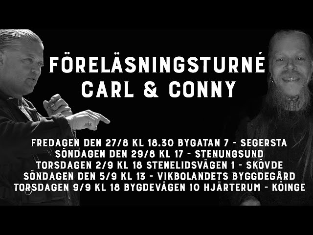 Turnédags - Carl Norberg 2021-08-13