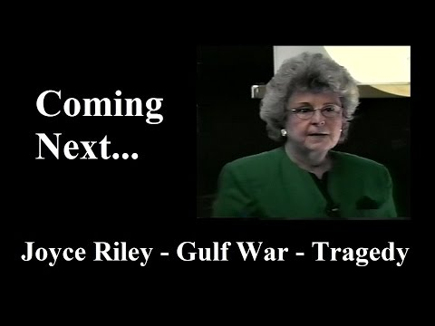 Download Youtube: Joyce Riley - Gulf War Tragedy