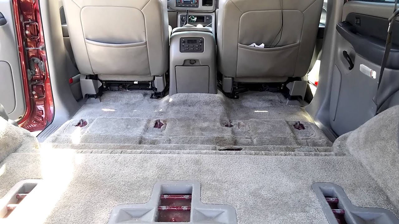 2003 Gmc Yukon 2nd Row Captain Seats Conversion 1 Youtube