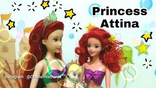 Ariel Mermaid Cerita Barbie Bahasa Indonesia Putri Duyung Cantik Princess Ariel Disney Park Dolls