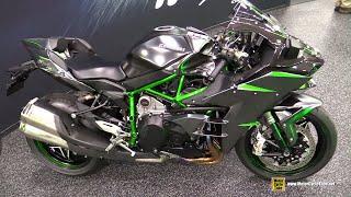 2019 Kawasaki Ninja H2 Carbon - Walkaround - Debut at 2018 AIMExpo Las Vegas