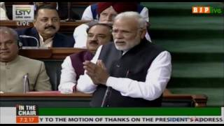 Congress must answer why they didn't notify Benami Property Act passed in 1988 : PM in Lok Sabha
