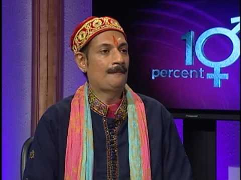 David Perry of 10 Percent  TV speaks with Prince Manvendra of India