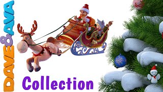 Christmas Songs for Kids | Jingle Bells Song | Nursery Rhymes Collection from Dave and Ava