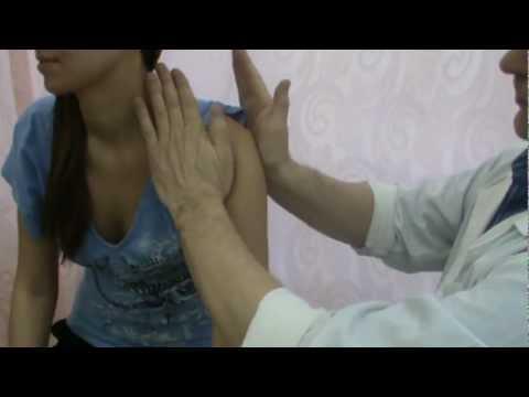 Массаж при растяжении плечевого сустава видео смотреть парофиновая ванна для коленного сустава