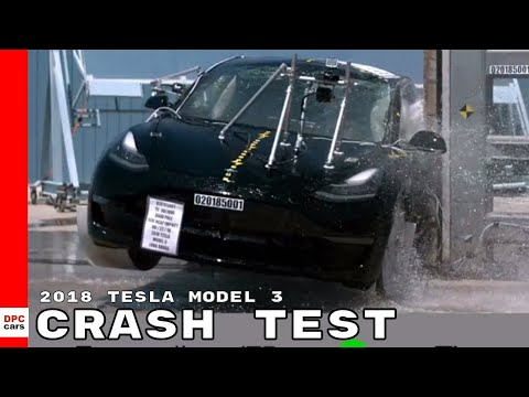 2018 Tesla Model 3 Crash Test