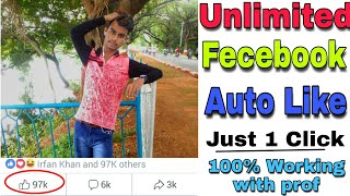 Unlimited Fecebook Auto like 2018 by Smart Tips and Tricks