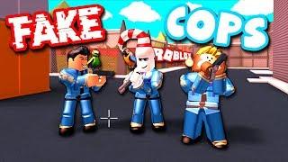 TROLLING AS FAKE COPS (Roblox Jailbreak)