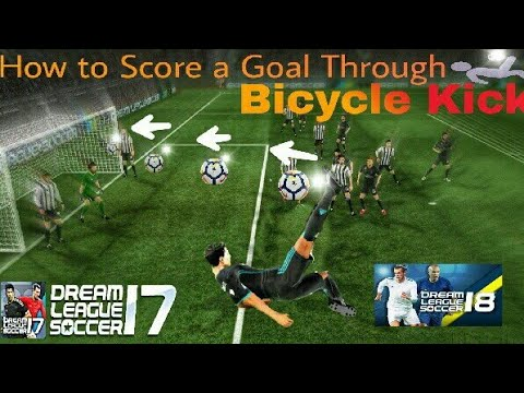 How To Do Bicycle Kick In Dream League Soccer 17 & 18 | DLS Tutorial#1