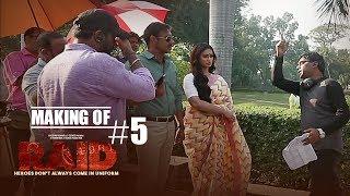 Making of Raid #5 Fun On Sets | Ajay Devgn | Ileana D