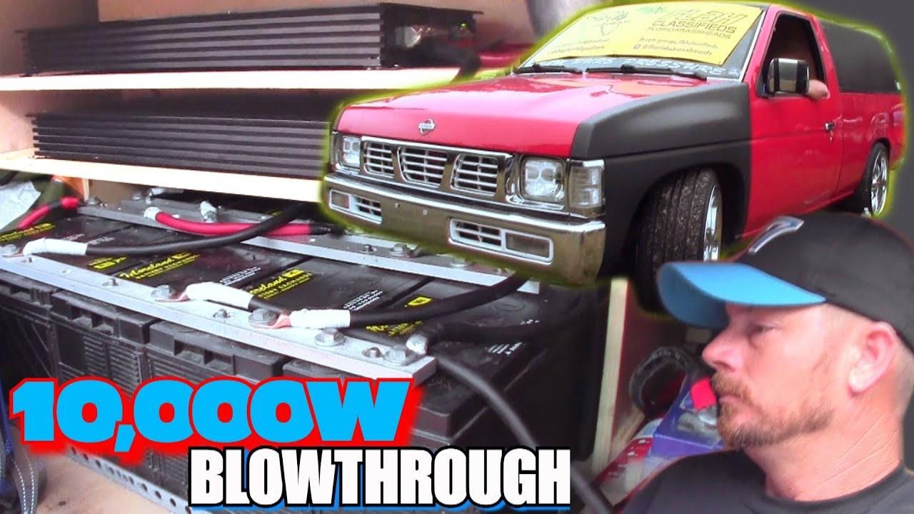 10 000w Blowthrough Install W Robs Sick Nissan Hardbody