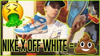 LE ULTIME JORDAN X OFF WHITE sono una m***a?