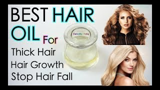Magical Hair Growth Oil 100% Works | How To Double Your Hair Growth In 1 Month