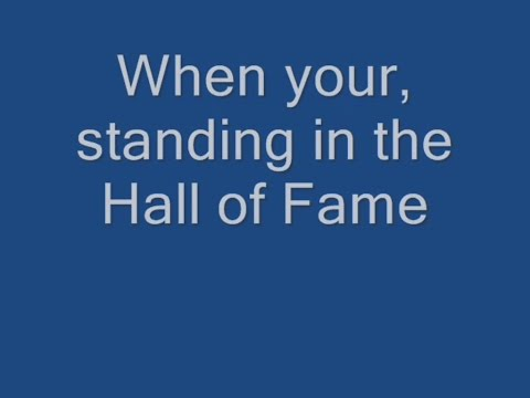 Hall of Fame Lyrics