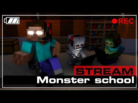 🔴 LIVE Minecraft Monster School : ALL SEASONS FULL HD thumbnail