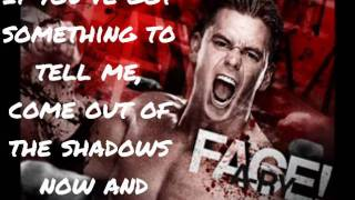 Downstait-Say It To My Face Lyrics (WWE Alex Riley Theme Song)