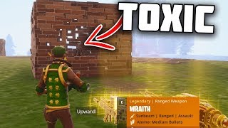 Pourquoi avez-vous même UPLOAD à YOUTUBE ... (Toxic Scammer se fait arnaquer) - Fortnite Save The World