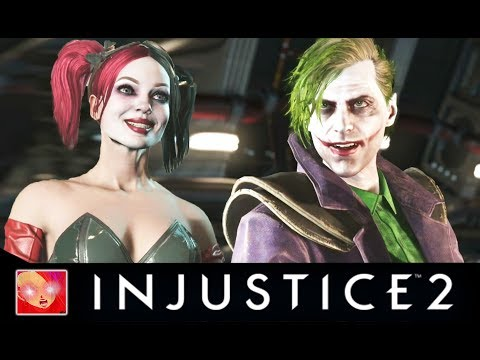 Injustice 2 - Harley Quinn Vs Past Love Interest Intro Dialogues