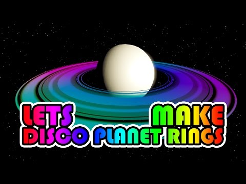 Disco Planet Ring Shader - Lets Make an Asteroid Belt - Part 1