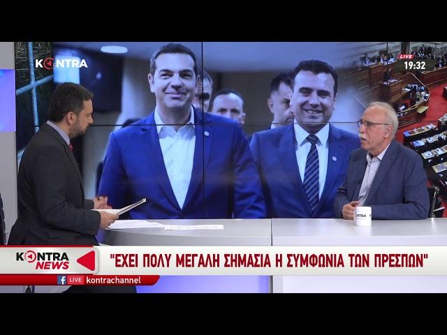 Ο Δημήτρης Βίτσας στο KONTRA 19/10/2018