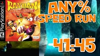 Rayman Rush Any% Speed Run in 41:45