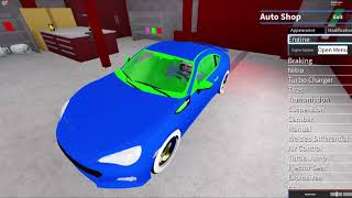 Modding and Testing out the Subaru BRZ | ROBLOX Vehicle Simulator